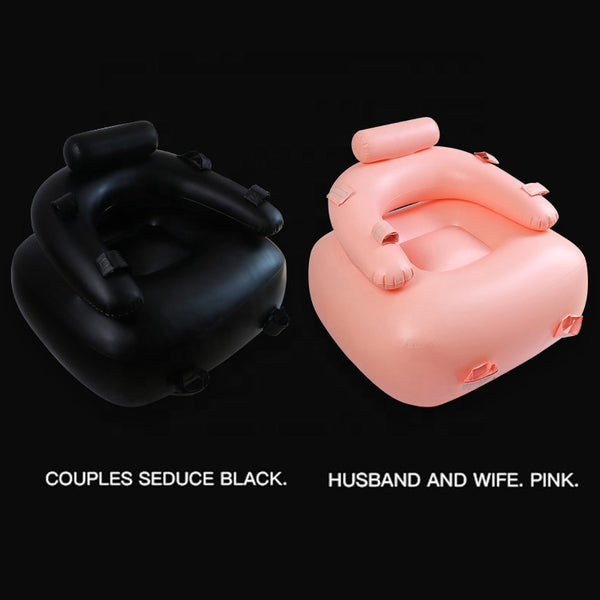 Sexual Inflatable Cushion Sex Sofa with Vibrating Dildo