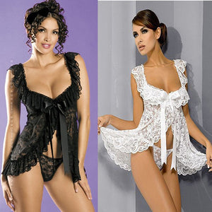 Hot Erotic Lingerie Dress Nightwear Set