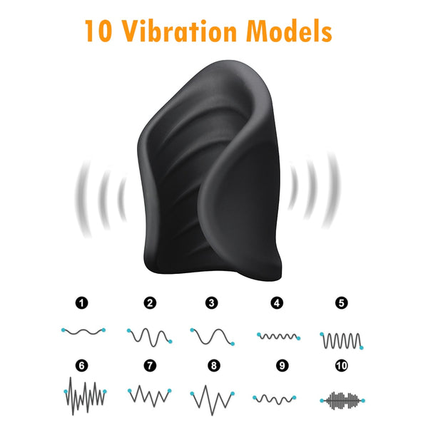 Rechargeable Male Masturbation Silicone Vibration Cup