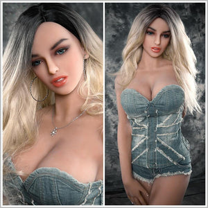 LOMMNY Sex Doll with 100% Silicone Sex Doll Japanese Big Breast Sexy Vagina Adult Full Life Full Size Love Doll Sex Toys for Men