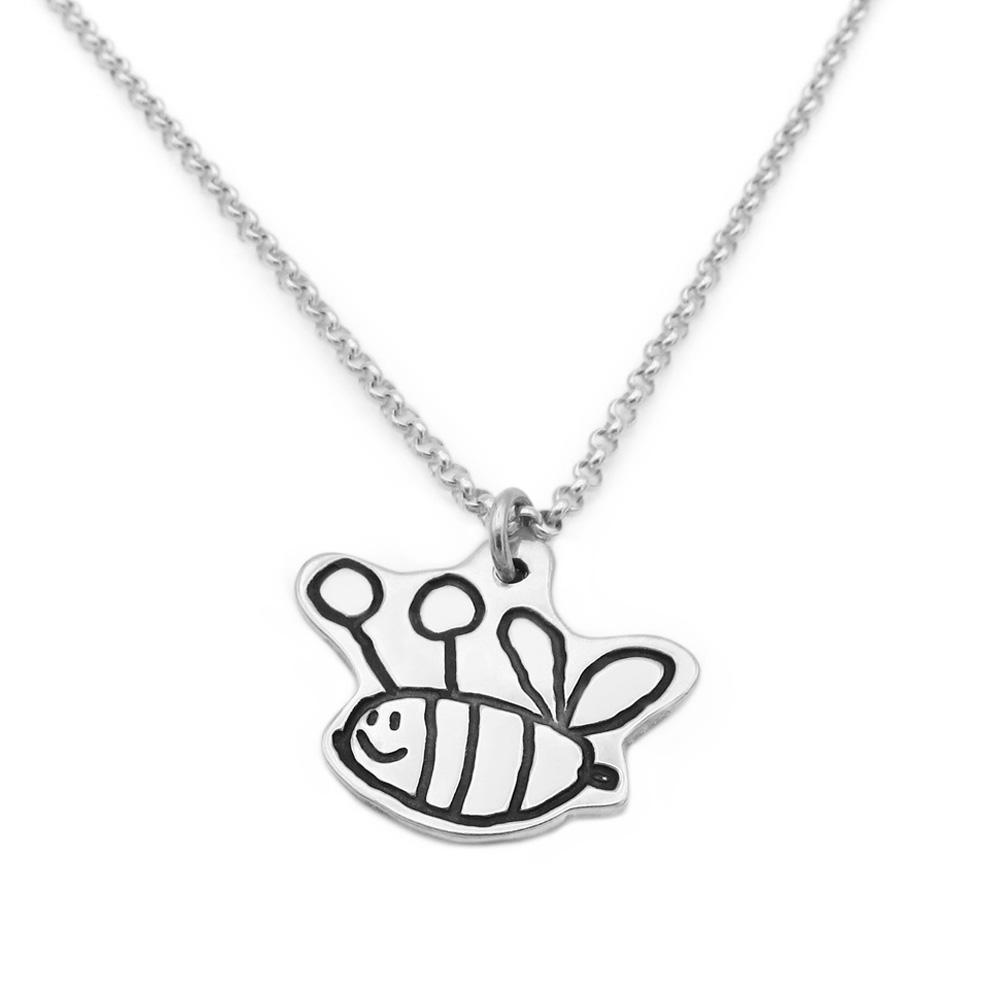 Drawing Necklace - Fine Belcher-Smallprint (Franchising) LLC