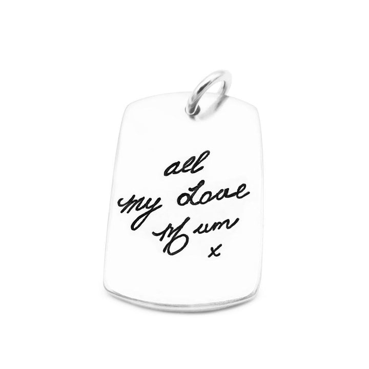 Handwriting Pendant-Smallprint (Franchising) LLC