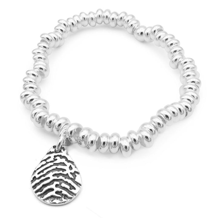 """Tender Touch"" Fingerprint Bracelet - Sweetie-Smallprint (Franchising) LLC"