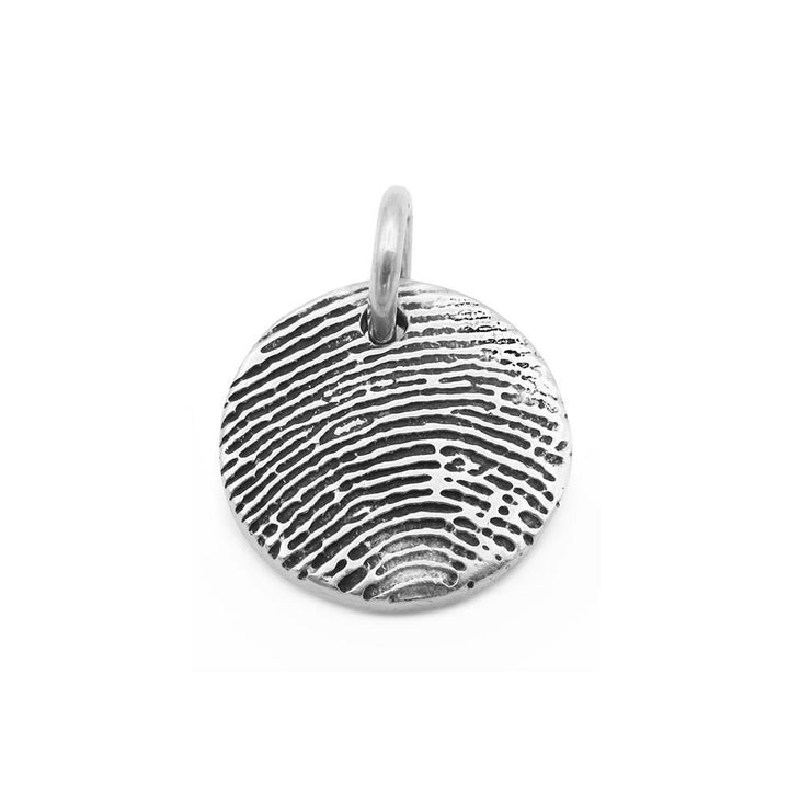 """Tender Touch"" Fingerprint Charm-Smallprint (Franchising) LLC"