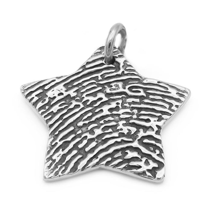 """Tender Touch"" Fingerprint Pendant-Smallprint (Franchising) LLC"