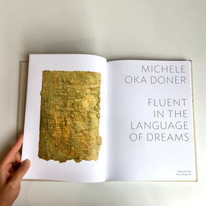 "Michele Oka Doner ""Fluent in the Language of Dreams"" Exhibition Catalog (Limited Edition)"