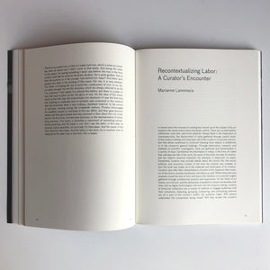 "Esther Shalev-Gerz ""Describing Labor"" Exhibition Catalog"