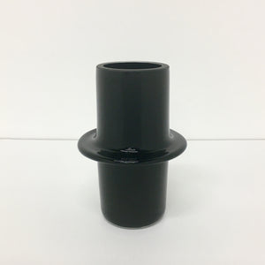 Solid Black Pipe Vessel