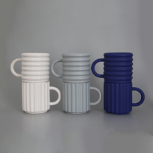Load image into Gallery viewer, Ripple Mugs (White)