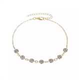 Centric Rhinestone anklet - Butterfly Centric