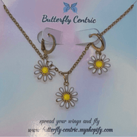 Sunflower pendant set - Butterfly Centric