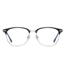Load image into Gallery viewer, Retro Silver - Blue Light Blocking Glasses - bamblueglasses