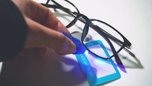Load and play video in Gallery viewer, Classic Square - Blue Light Blocking Glasses