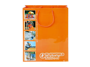 Laminated Paper Euro-Tote Shopping Bag 10x4.75x13