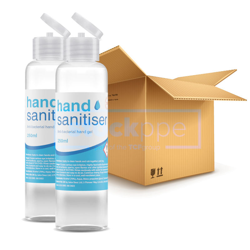 250ml Flip Top Hand Sanitiser