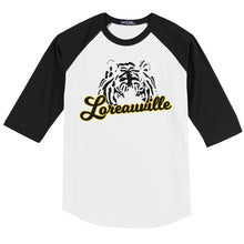 Load image into Gallery viewer, The Loreauville Tiger Raglan T-Shirt | T200