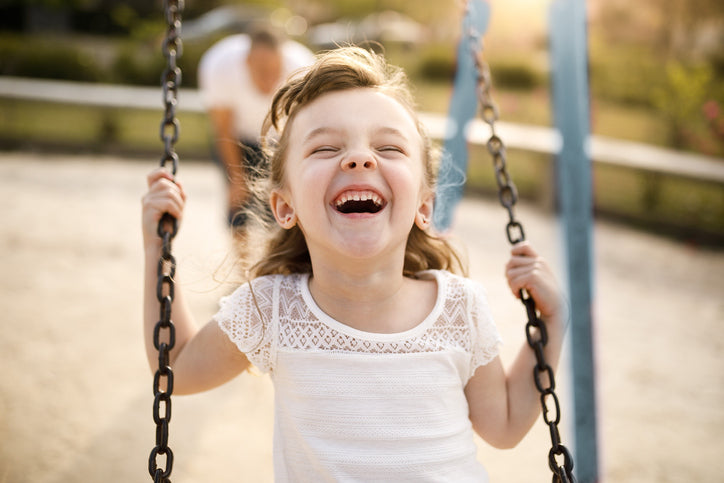 commercial playground swings