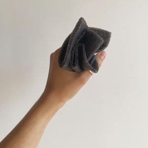 Black Charcoal konjac cloth