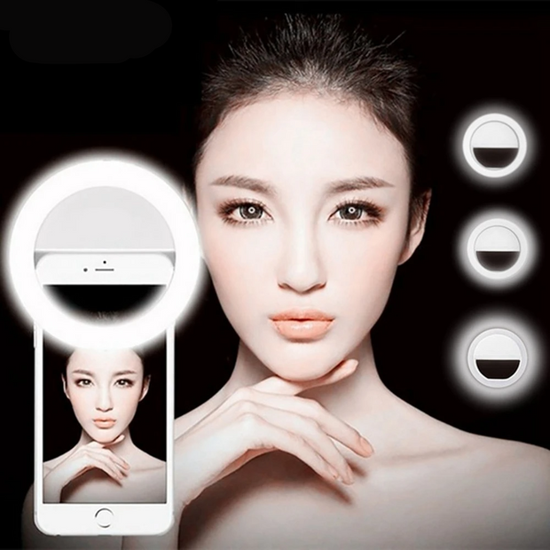 Mobile Phone Lens Portable Flash Ring