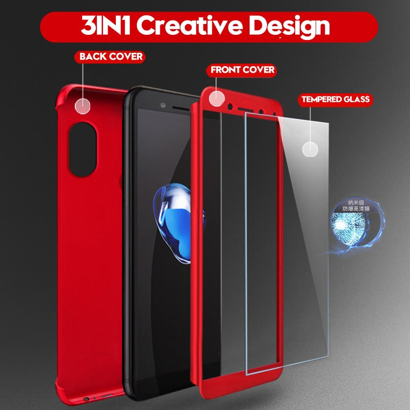 Full Body Cover 360 Degree Case
