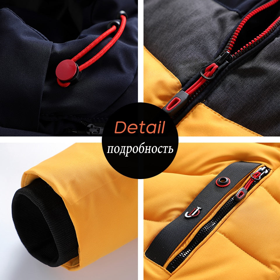 Casual Warm Thick Waterproof Jacket