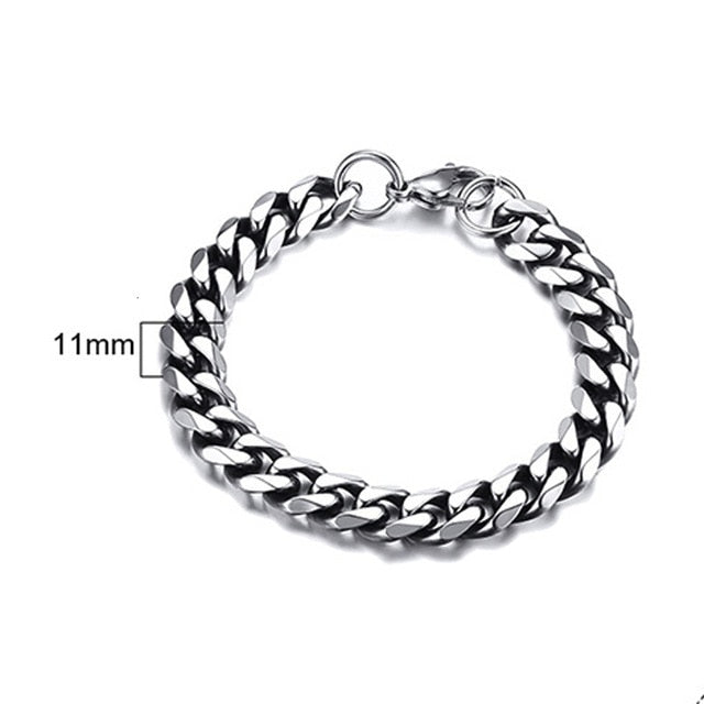 Men's Miami Cuban Link Bracelet