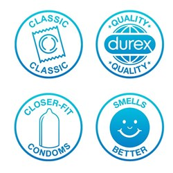 Durex Emoji Feel Fun - 6 condoms