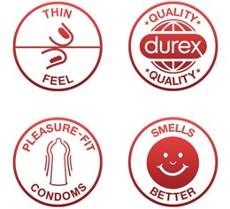 Durex Ultra Sensitive - 3 wafer thin condoms