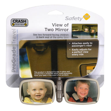 Doble Espejo Retrovisor Infantil Safety