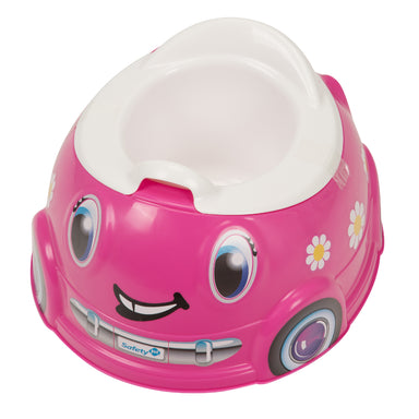 Potty Carrito Rosado Safety