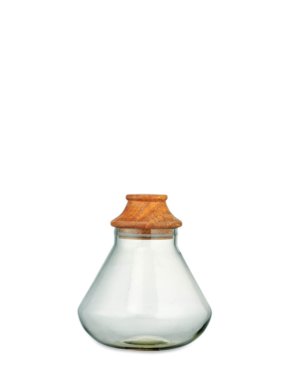 Akiko Large Glass Storage Jar