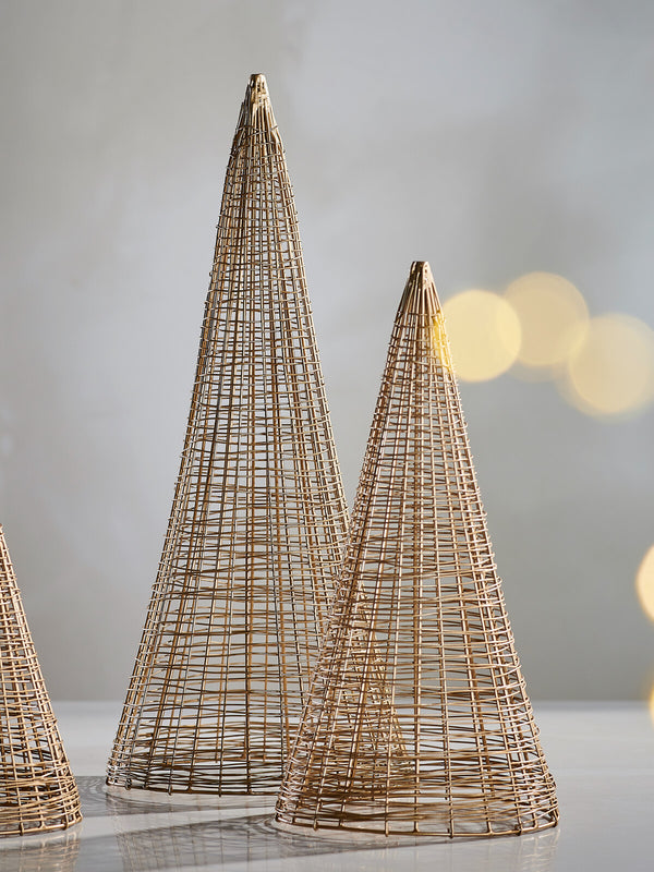 Aurum Metal Christmas Tree (medium)