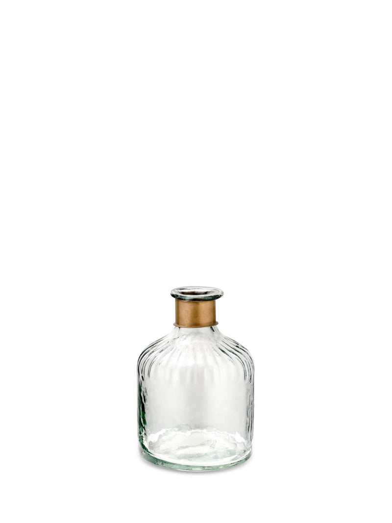 Ava Hammered Glass Bottle