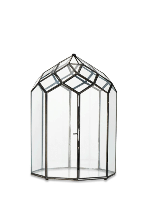 NEW: Belvedere Glass Lantern Large