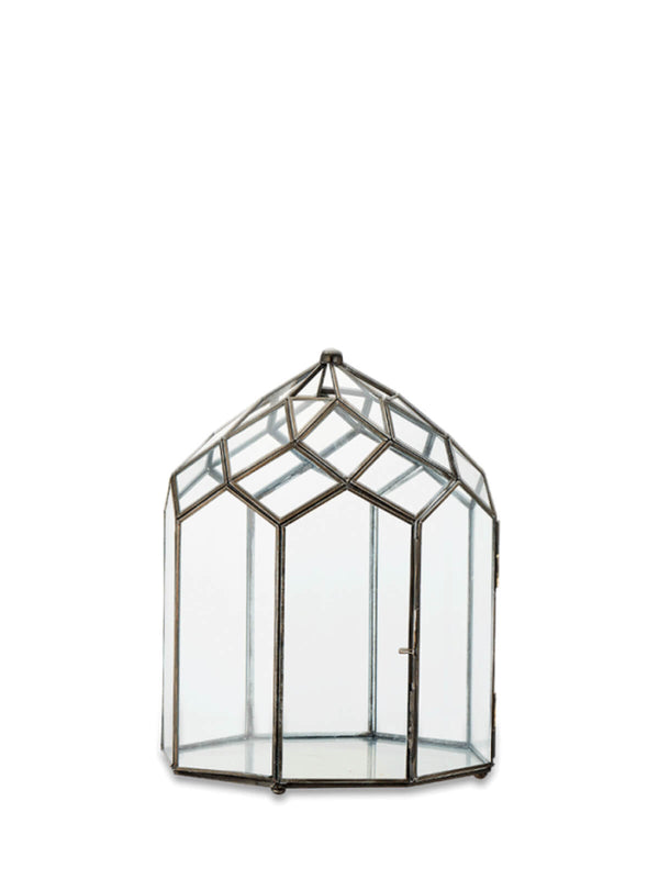 NEW: Belvedere Glass Lantern Medium