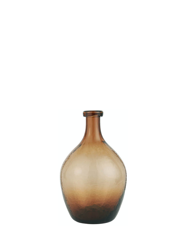 NEW: Brampton Amber Vase Small