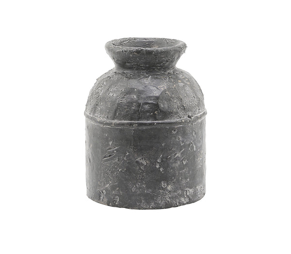Coulman Charcoal Vase