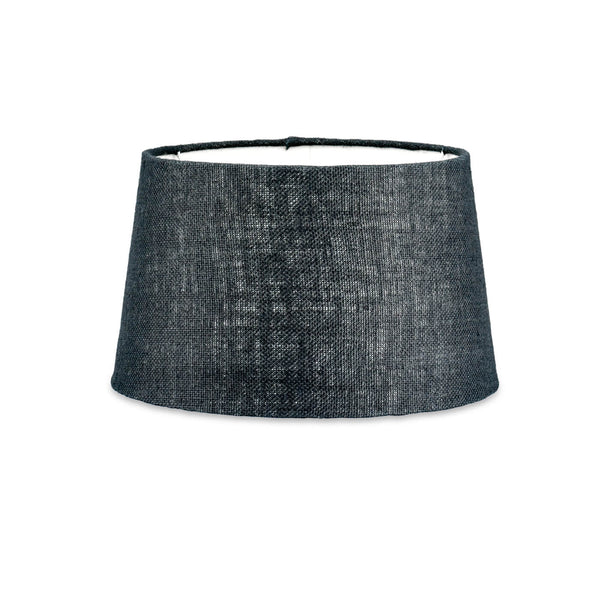 Christa Black Jute Lampshade 30cm