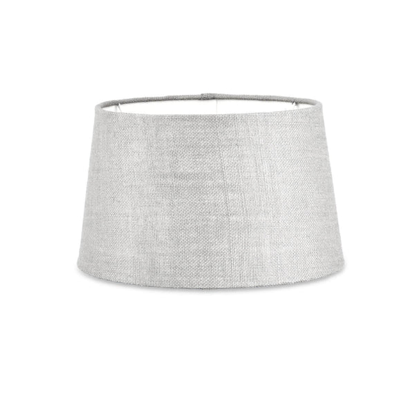 Christa Grey Jute Lampshade 30cm