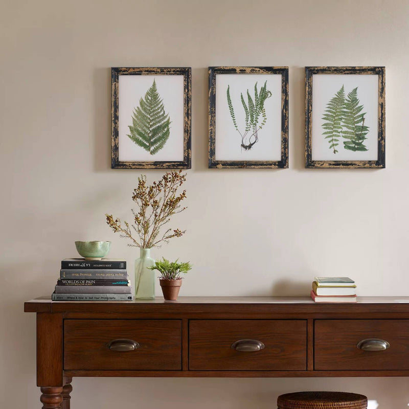 Framed Single Fern Print