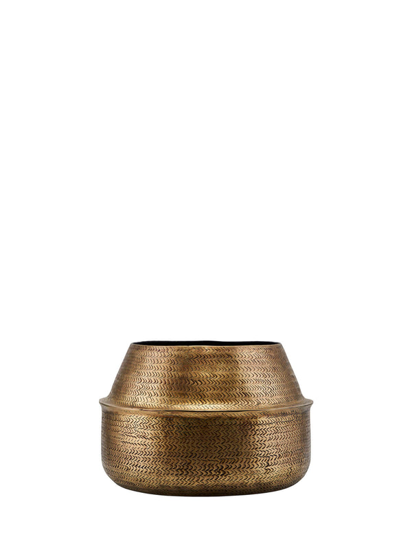 NEW: Hyde Brass Planter Large