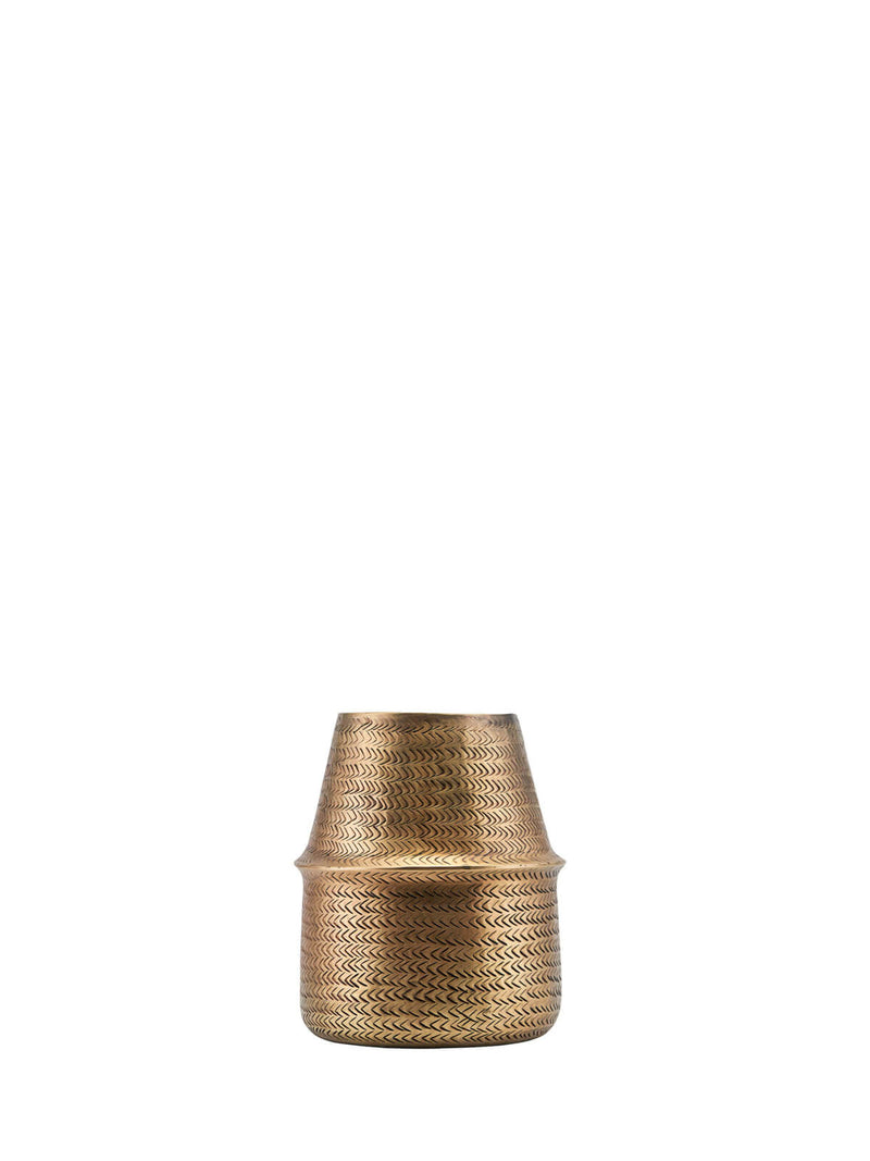 NEW: Hyde Brass Planter Small