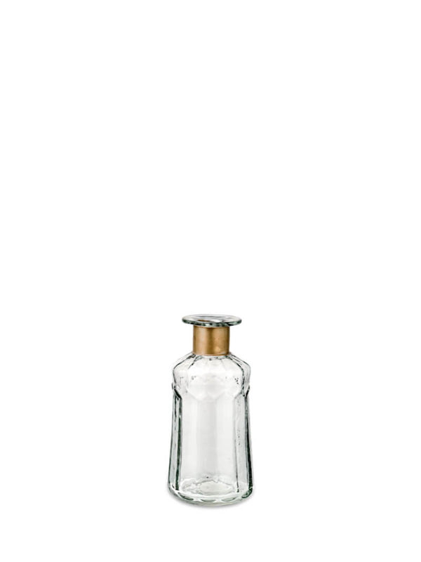 NEW: Isla Hammered Glass Bottle (small)