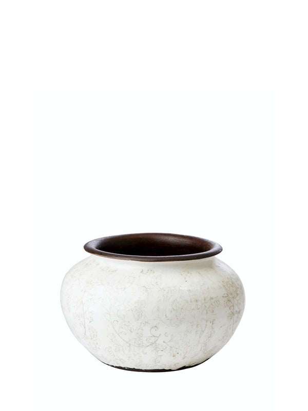 NEW: Stowe Scroll Pot