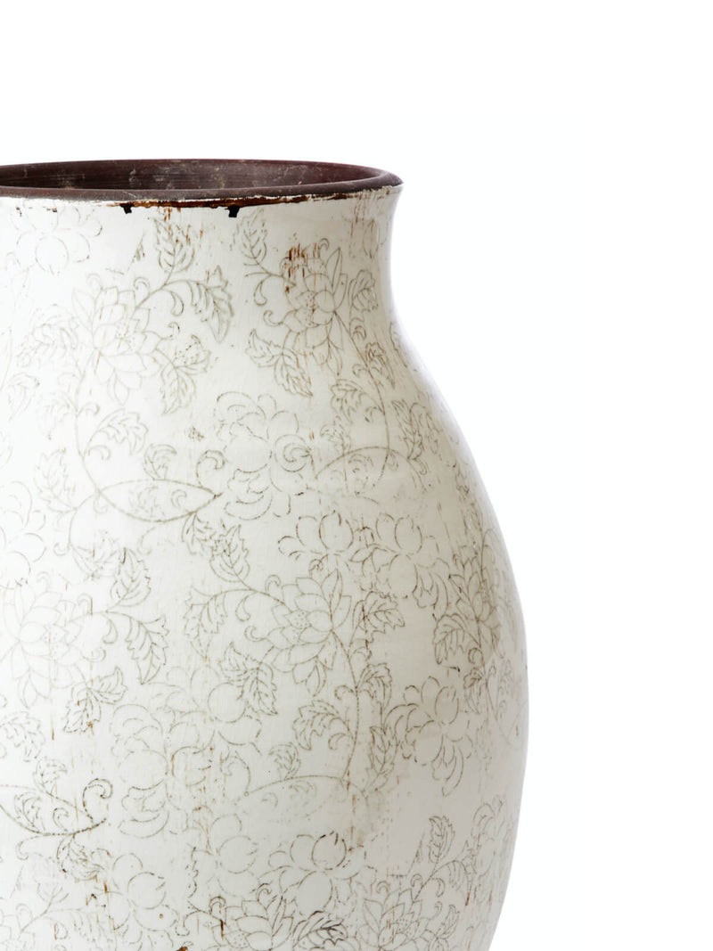 NEW: Stowe Scroll Tall Vase