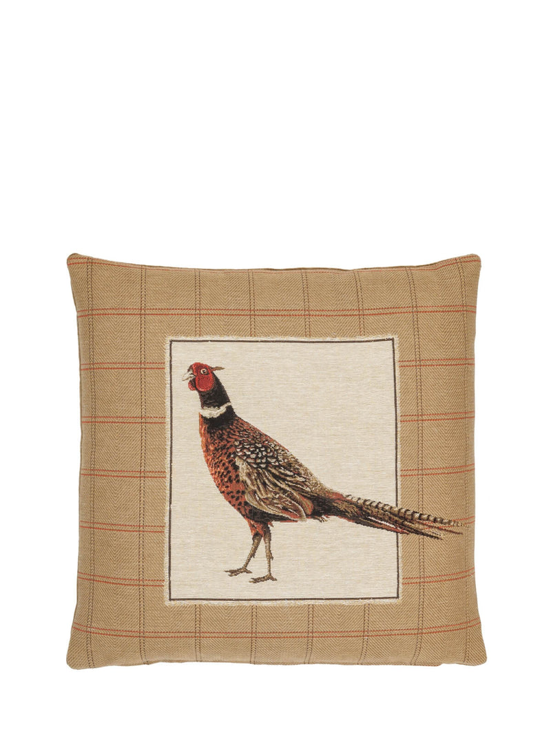 Strutting Pheasant Right Tapestry Cushion