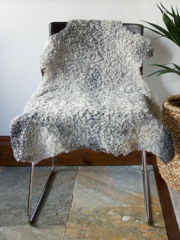 Swedish Grey Sheepskin Nº01518