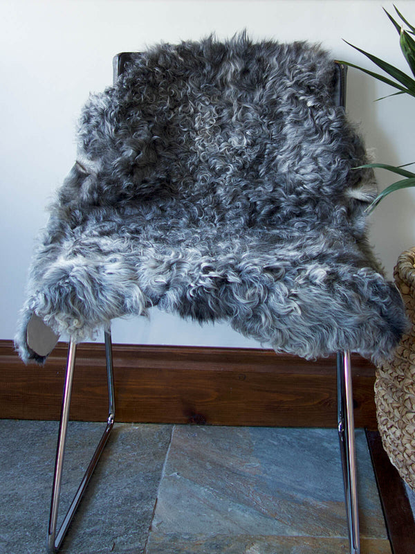 Swedish Grey Sheepskin Nº01618