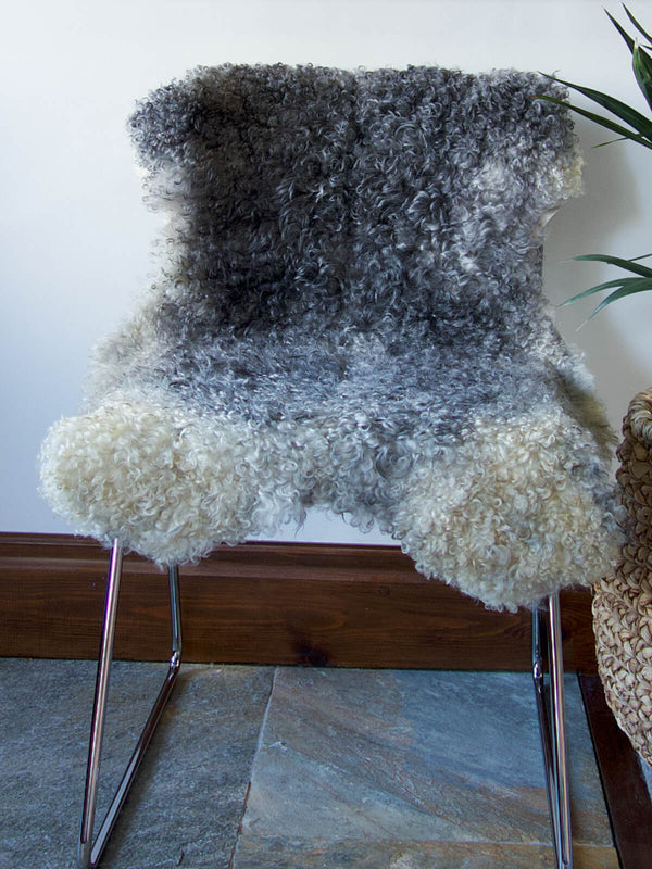Swedish Grey Sheepskin Nº01718