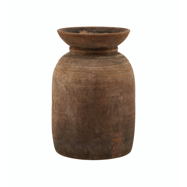 NEW: Tamau Wooden Vase Short